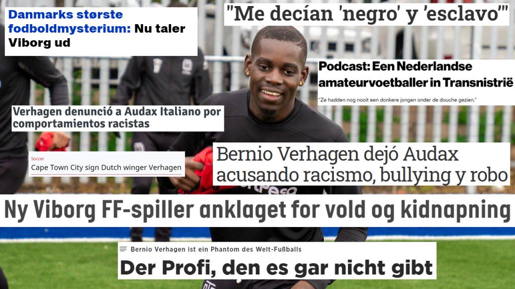 Bernio Verhagen: de Nederlandse Ali Dia die van continent naar continenttrekt